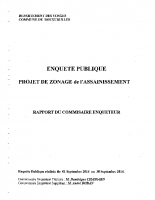 rapport commissaire enquêteur